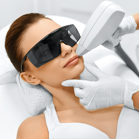 Face Laser Hair Removal by Touch of Beauty Cork