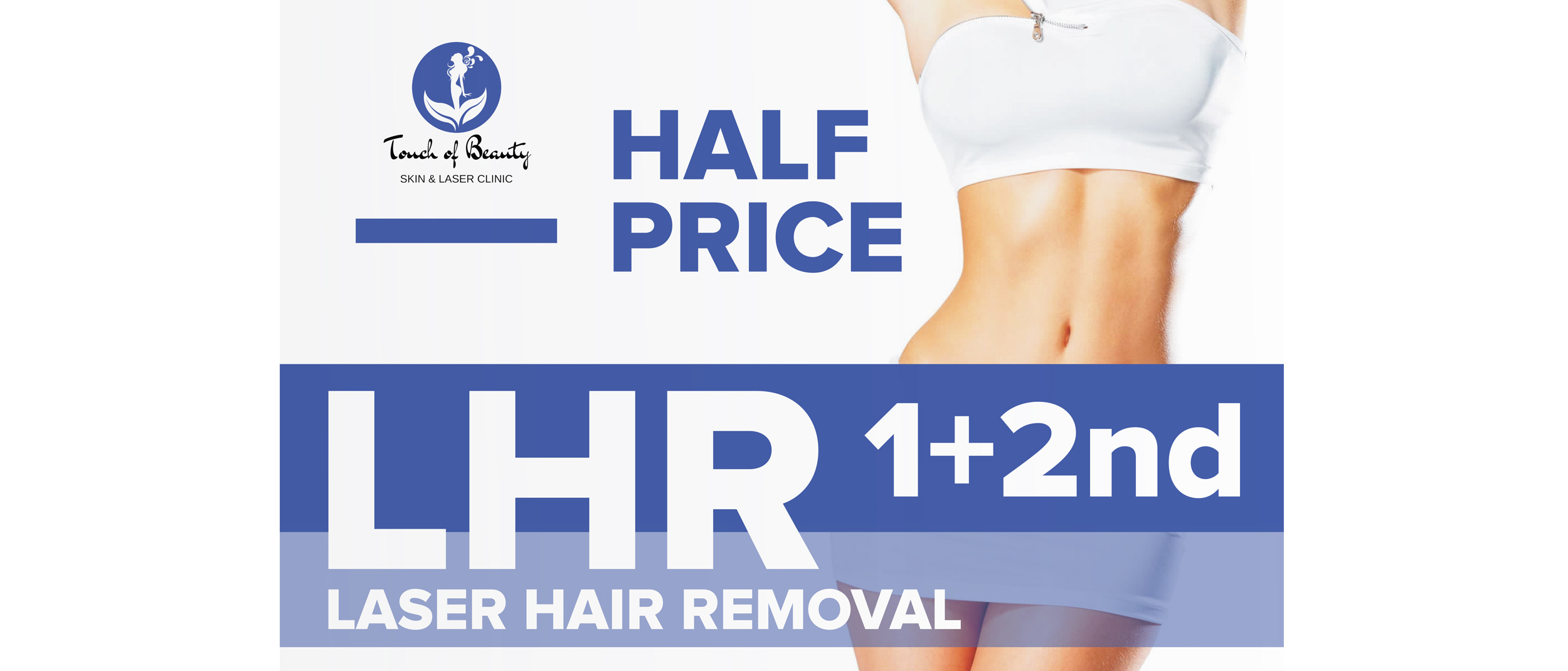 touchofbeauty.ie laser hair removal promo
