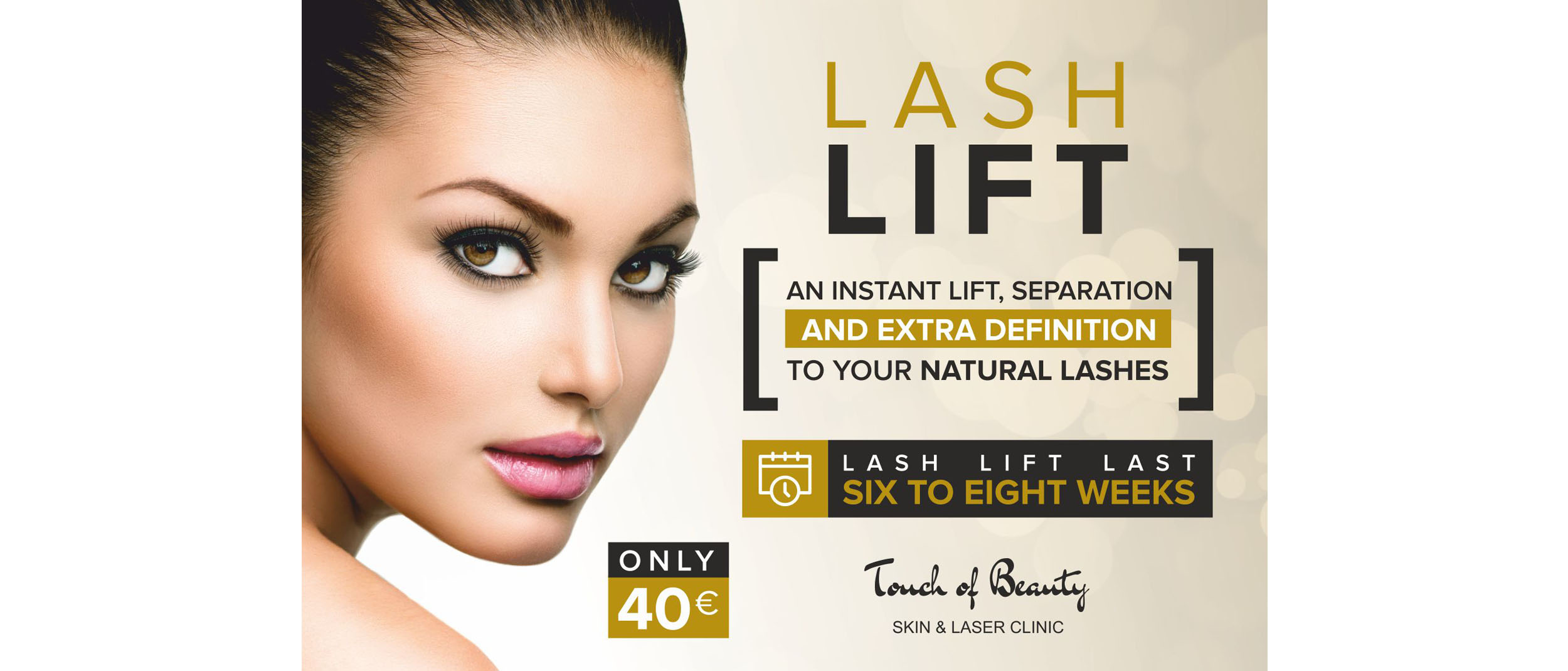 Lash Lift Offer - Touch of Beauty Cork