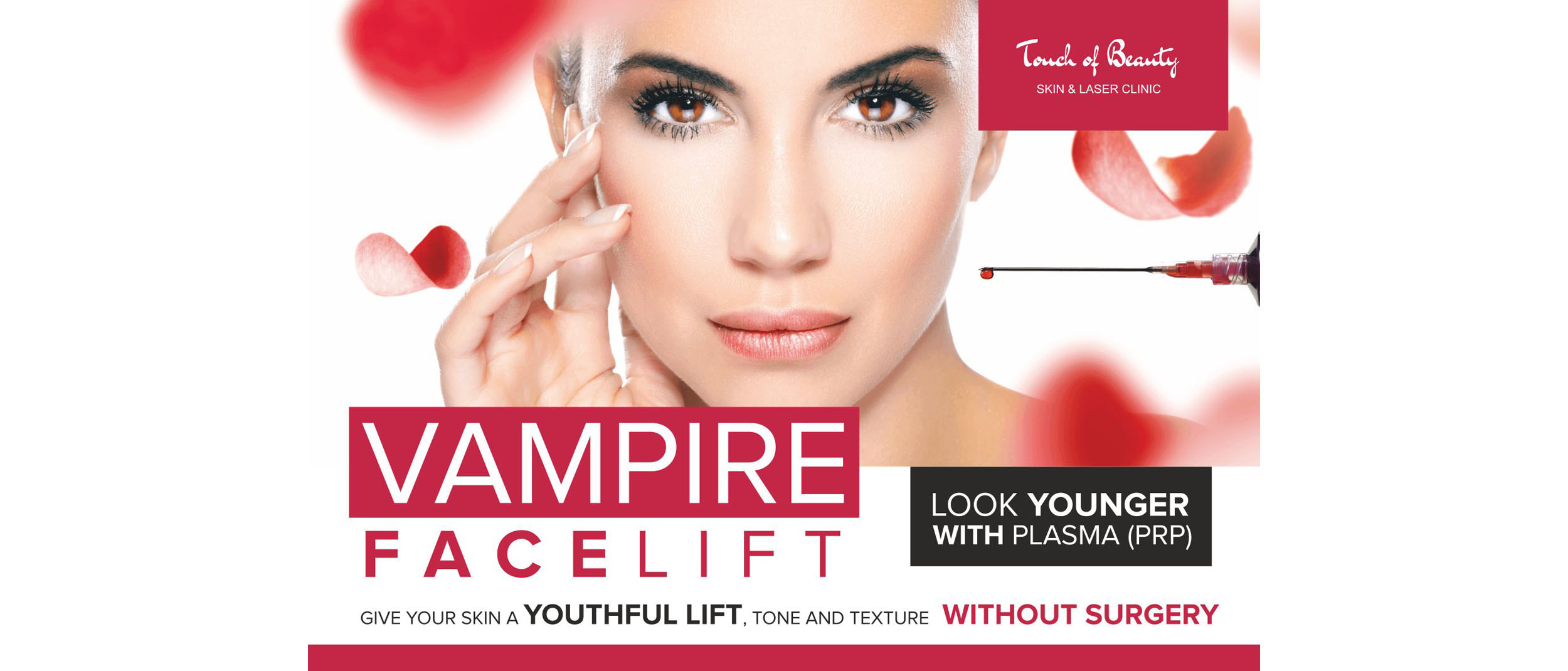 Vampire Face Lift Touch of Beauty Cork