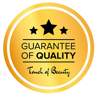 Guarantee of Quality by Touch of Beauty Cork